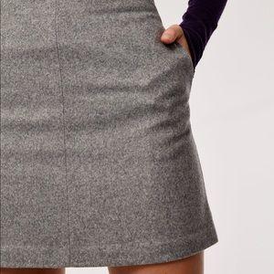 Wilfred Essonne Wool Mini Skirt size 2